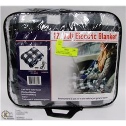 NEW 12 VOLT ELECTRIC BLANKET,FOR CAMPING OR
