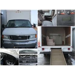FEATURED 2005 FORD ECONOLINE E350 CUTAWAY VAN