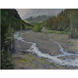 """Nisqually River"" by Nancy Romanovsky"