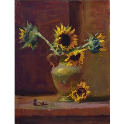 """Sunflowers"" by Kelli Folsom"