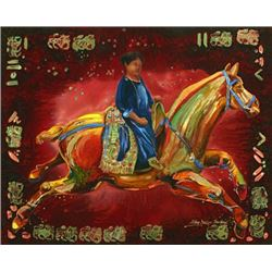 """T'ang Horse II"" by Nancy Dunlop Cawdrey"