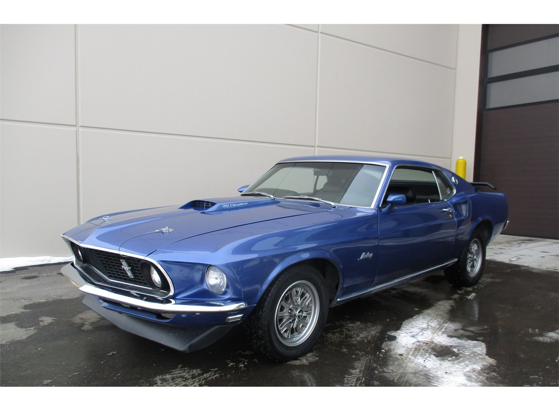 Friday Night 1969 Ford Mustang Fastback Mach 1 Image