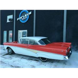 FRIDAY NIGHT! 1958 FORD FAIRLANE 500 2-DOOR HARD TOP