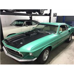 FRIDAY NIGHT! 1969 FORD MUSTANG 428 COBRA JET 4 SPEED MACH I