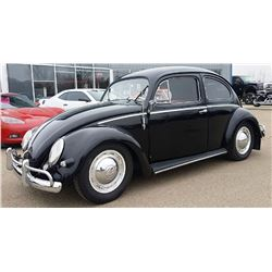 FRIDAY NIGHT! 1956 VOLKSWAGEN BEETLE OVAL WINDOW