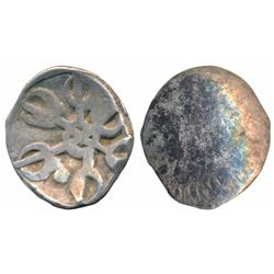 Archaic Punch Marked Coinage,  Silver ½ Shana,  0.60g