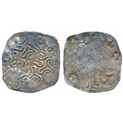 Archaic Punch Marked Coinage,  Silver 4.44g