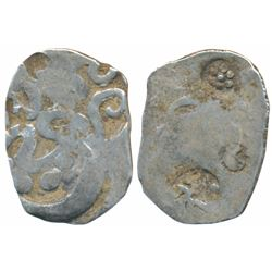 Archaic Punch Marked Coinage, Silver Karshapana,  3g