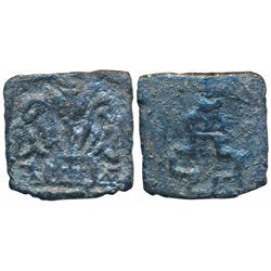 Taxila (local coinage) (c. 200 BC),  Copper Karshapana,  3.94g