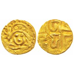 Kalachuris of Tripuri,  Gangeya Deva,  Base Gold 4½ Masha,  3.9g