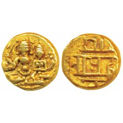 Vijaynagar Empire, Gold ½ Pagoda,  1.70g