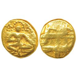 Vijayanagar Empire,  Gold Pagoda,  3.41g