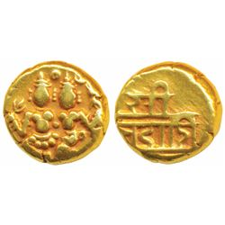 Vijayanagar Empire, Gold Pagoda,  3.46g