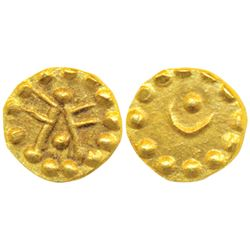 South India,  Gold Token