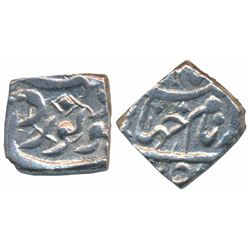 Jahangir,  Silver Square 1/8 Rupee,  1.37g,  Kabul Mint