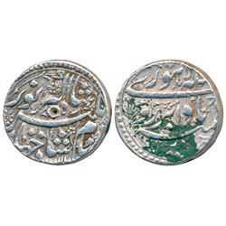 Jahangir,  Silver Rupee,  11.42g,  Lahore Mint