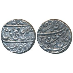 Shahjahanabad Mint,  Silver Rupee,  11.14g