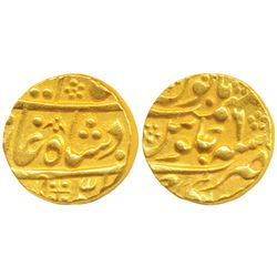 Mughal Issue,  Gold Mohur,  10.88g,  Sawai Jaipur Mint