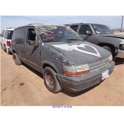 1991 - PLYMOUTH VOYAGER