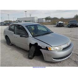 2003 - SATURN ION // REBUILT SALVAGE