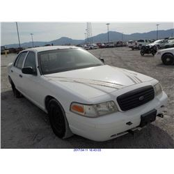 2002 - FORD CROWN VICTORIA with TX Title