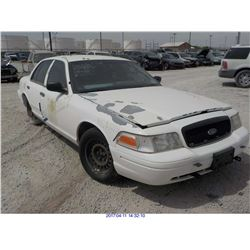 2001 - FORD CROWN VICTORIA with TX Title