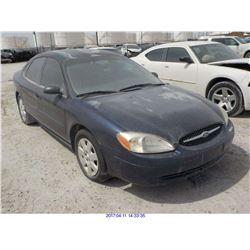 2000 - FORD TAURUS with TX Title