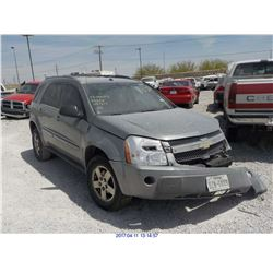 2005 - CHEVROLET EQUINOX // REBUILT SALVAGE