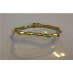 NEW DRAGONSTONE MAGNETIC BRACLET - #691 - golden bamboo link