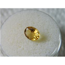 OVAL FACETTED CITRINE - ~1.5CT #1007