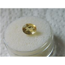 OVAL FACETTED CITRINE - ~1.89CT #1004