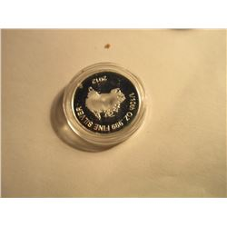 SILVER ROUNDS - .999 SILVER TASMANIAN DEVIL ROUNDS AUSTRALIAN MINT SEALED - 5 GM