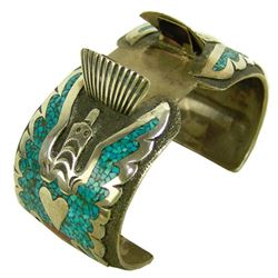 Navajo Watch Bracelet - Tommy Singer
