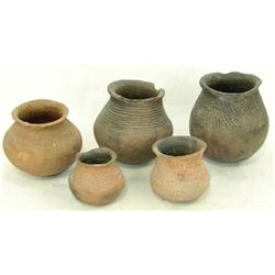 5 Anasazi Pottery Items
