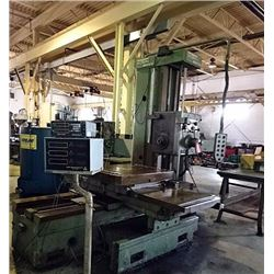 "3"" Wotan Horizontal Boring Mill, Model B-75M"