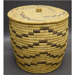 PAPAGO BASKETRY CONTAINER