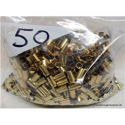 CLEANED BRASS 9MM LUGER