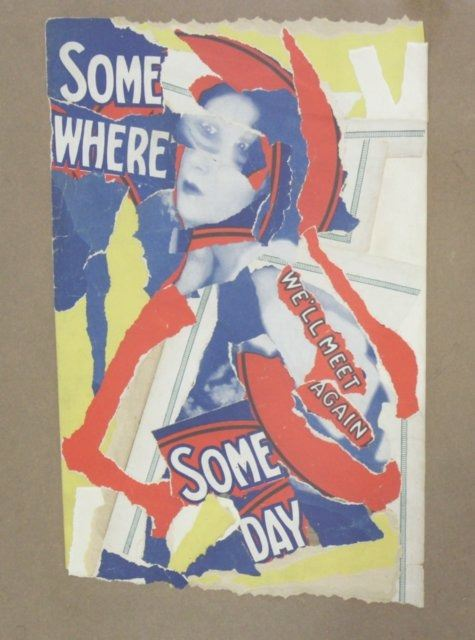 Bruce Conner Collage