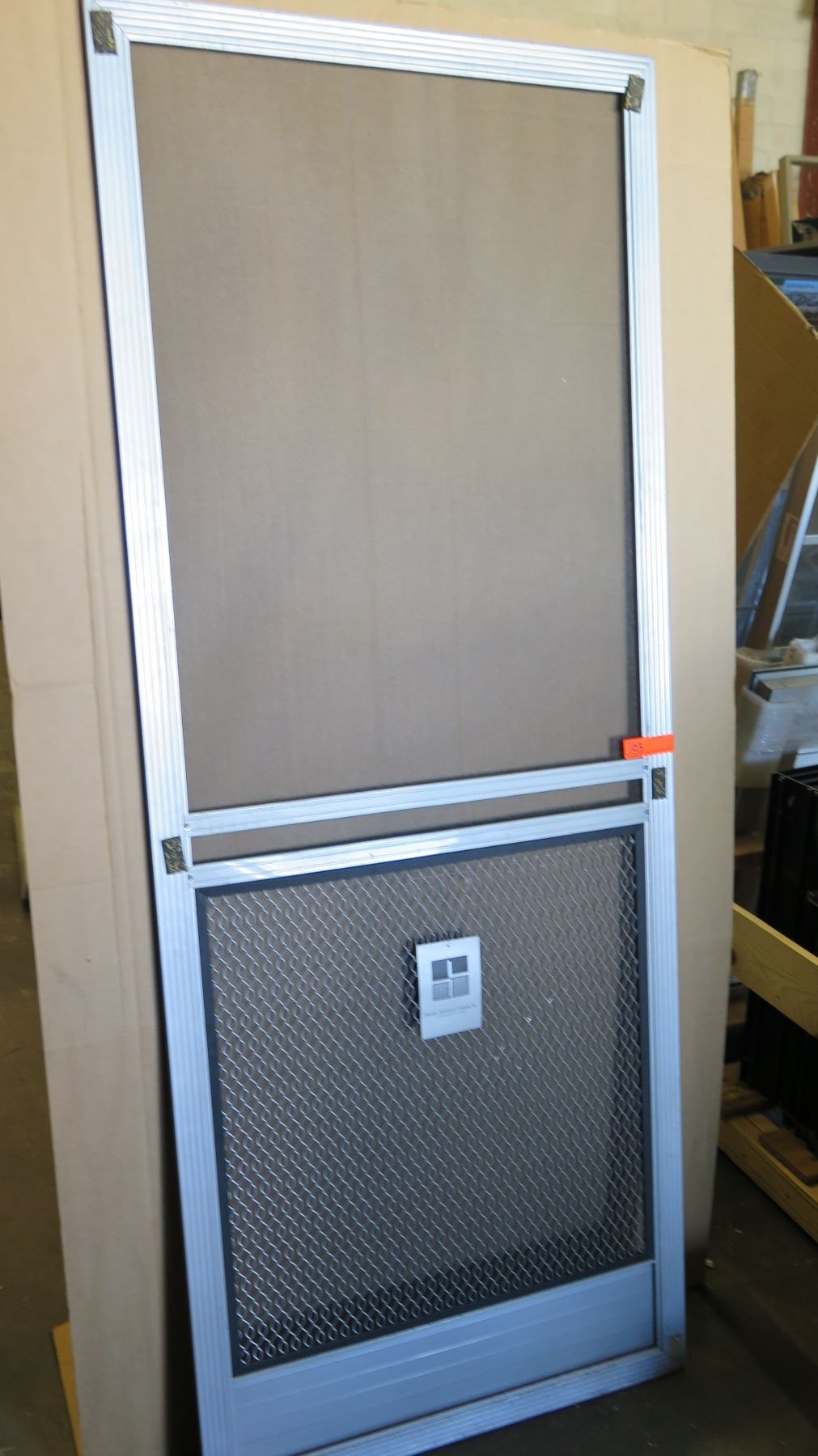 Screen Door 31 1 8 Quot X 79 3 4 Quot Clear Anodized Hinged
