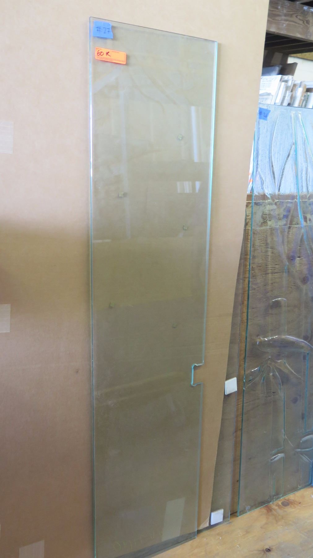 Tempered glass door panel 38 clear 15 58 x 66 343 retail image 1 tempered glass door panel 38 clear 15 5 planetlyrics Gallery