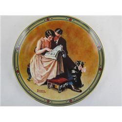 1985 Collectible Limited Edition A Couples Commitment by Norman Rockwell