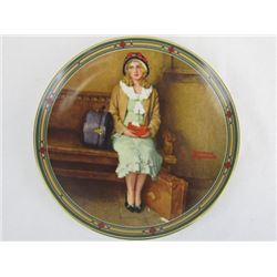 1985 Collectible Limited Edition A Young Girls dream by Norman Rockwell