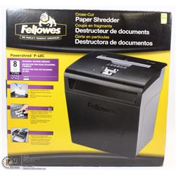 FELLOWES CROSS CUT PAPER SHREDDER
