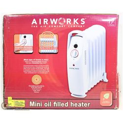 AIRWORKS MINI OIL HEATER