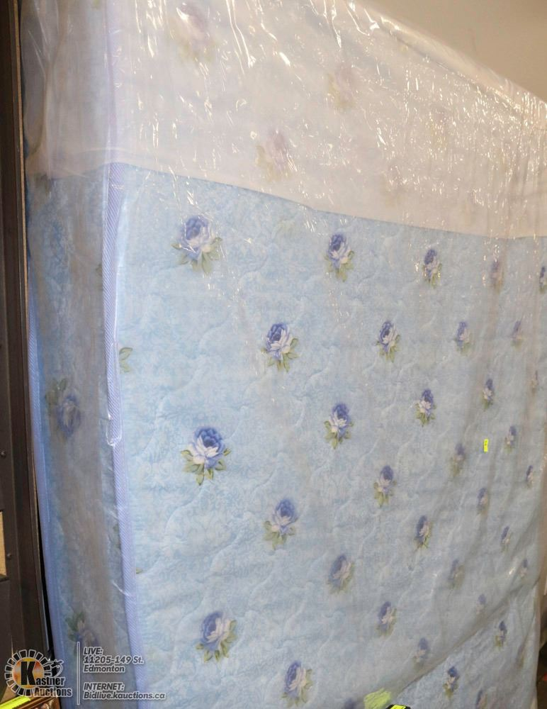 New Queen Size Floral Mattress