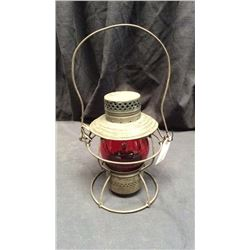 Handlan Pennsylvania Railroad Lantern Red CNX globe St. Louis
