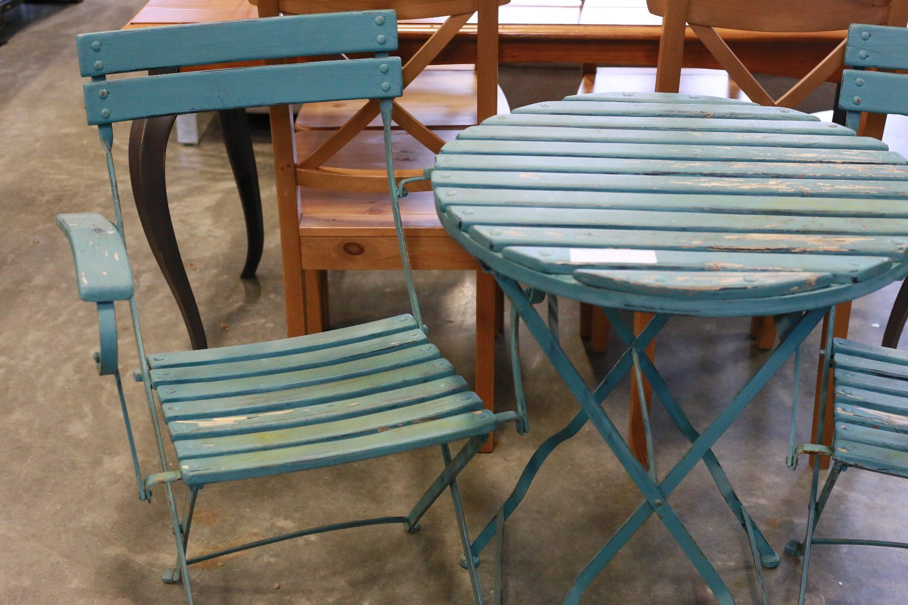 Small Patio Table And Two Chairs