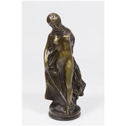 :Bronze Figure, Nude Woman in Shroud