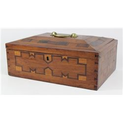 Inlaid Box with Handle on Top