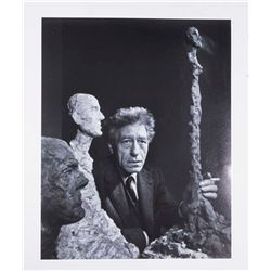 After Yousuf Karsh, Photo of Alberto Giacometti